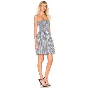 ATM Anthony Thomas Melillo NWT Ruched Poplin Dress
